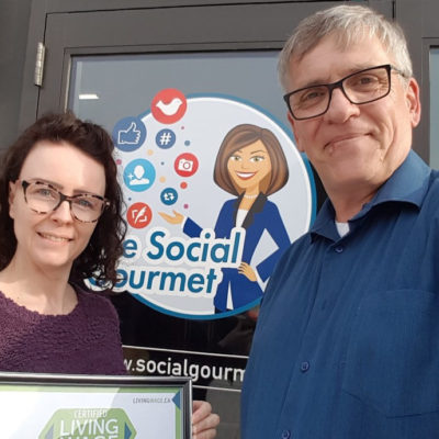 The Social Gourmet: Certified Living Wage Employer