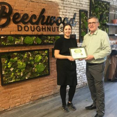 Beechwood Doughnuts: Certified Living Wage Employer
