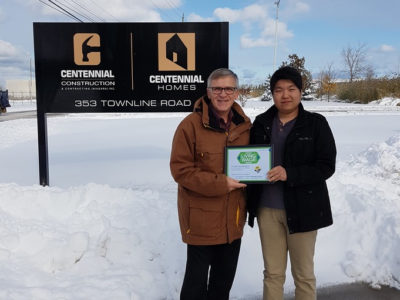 Centennial Construction and Contracting: Certified Living Wage Employer