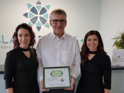 ClaraDerma+: Certified Living Wage Employer