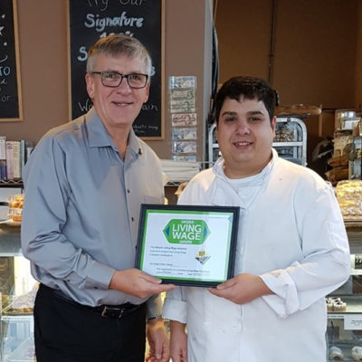 Con Gusto Artisan Bakery: Certified Living Wage Employer