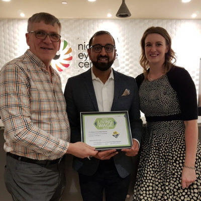 Niagara Eye Care Centre: Certified Living Wage Employer