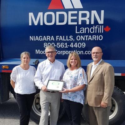 Modern Landfill Inc.: Certified Living Wage Employer