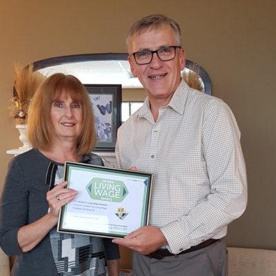 Niagara Sexual Assault Centre: Certified Living Wage Employer