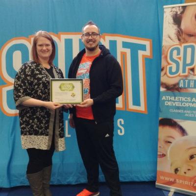 Spirit Athletics: Certified Living Wage Employer