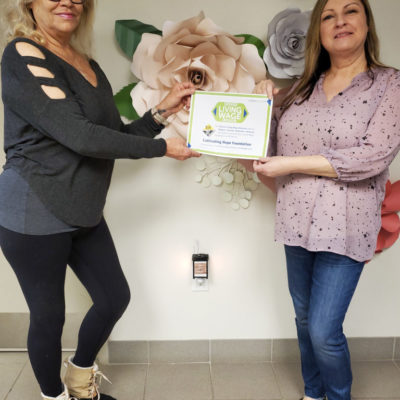 Cultivating Hope Foundation is Niagara's Latest Certified Living Wage Employer